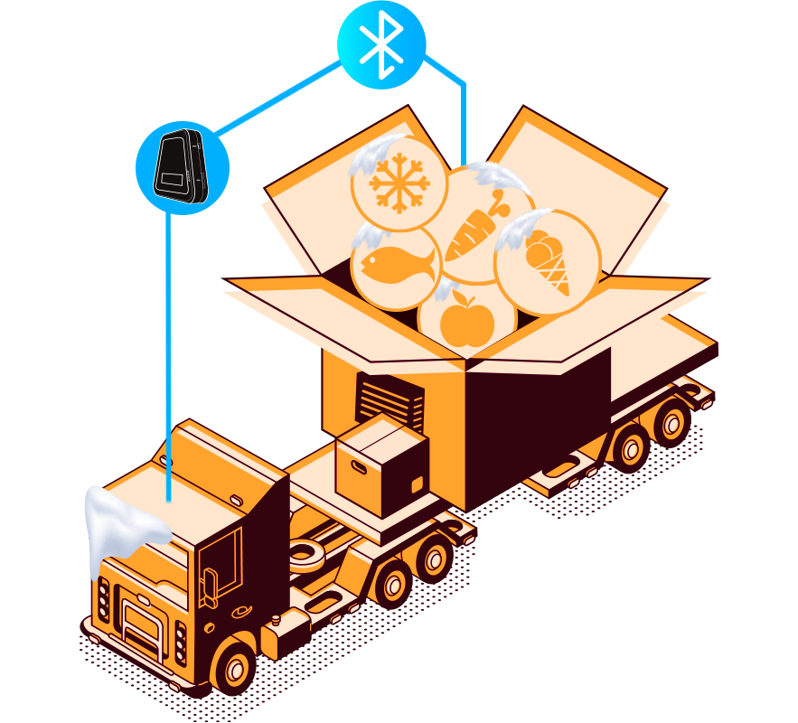 Cold Chain Tracking by Bluetooth Matching